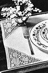 Lazybones Placemat pattern