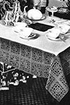 Five o'Clock Tablecloth pattern