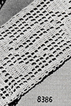 Filet Crochet Insertion Pattern