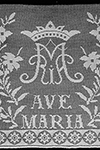 Ave Maria Altar Lace Pattern