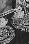 Monticello Doily Set pattern