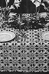 Invitation Tablecloth pattern