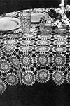 Love Tablecloth pattern