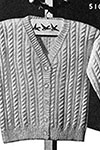Sally Waters Cardigan pattern