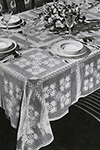 New Love Tablecloth pattern
