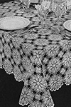 Early American Tablecloth Pattern
