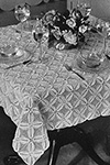 Four Leaf Clover Tablecloth Pattern