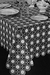 Page Polka Dots Tablecloth Pattern