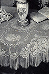 Queen Victoria Tablecloth pattern