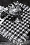 Checkboard Placemat pattern