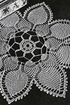 Pineapple Petals Doily pattern