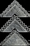 Handkerchief Edgings 816-818 pattern