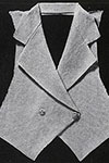 Tailored Vest pattern