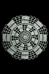 crooked ladder doily pattern
