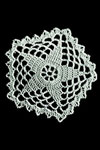 five point star doily