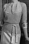 Tea-Time Sweater pattern
