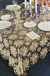 Queen Anne's Lace Tablecloth pattern