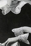 Antique Lace Collar and Cuffs pattern