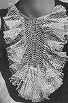 Fishnet Frills Collar pattern