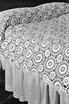 Star Wheel Bedspread pattern