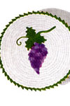 grape hot plate covers pattern