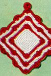 scallop potholder pattern
