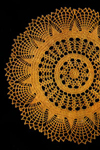 gold glory doily pattern