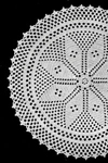star center doily pattern