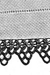 Pointed Medallion Edging pattern