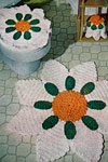bathroom deluxe set pattern