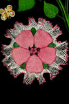 Rose Ruffle Doily pattern