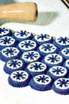 bottle cap hot plate mat pattern