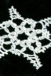 Snowflake Ornament pattern left