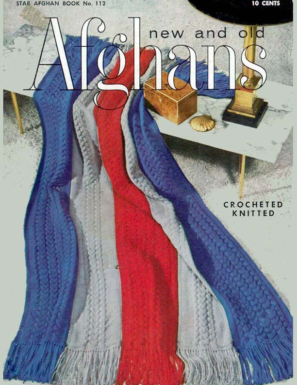 New and Old Afghans | Star Afghan Book No. 112