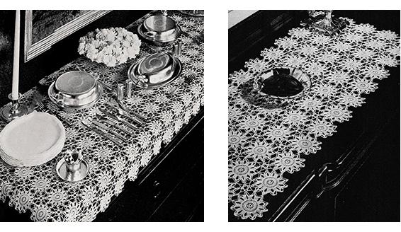 Snowflake Scarf Pattern #4505