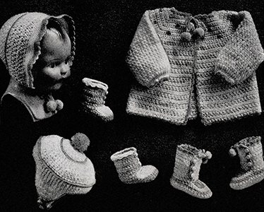 5-Piece Baby Set Pattern #603