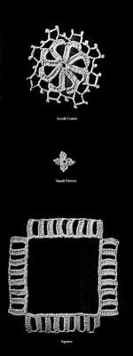 Florentine Banquet Cloth Pattern chart a