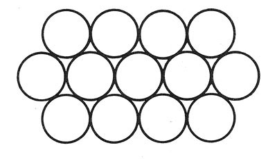 Bone Ring Blossoms Place Mat Pattern chart