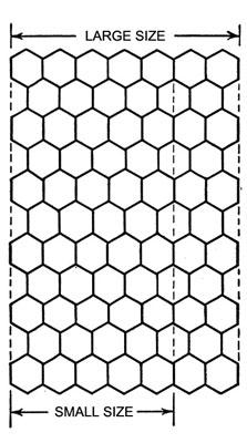 Pineapple Frosting Bedspread Pattern chart