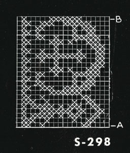 Alb Lace No. S298 Pattern chart