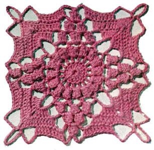 California Modern Bedspread Pattern motif