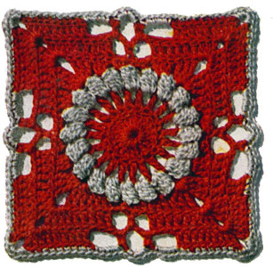Pennsylvania Modern Bedspread Pattern motif