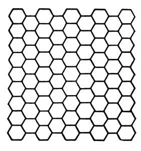 Texas Modern Bedspread Pattern chart