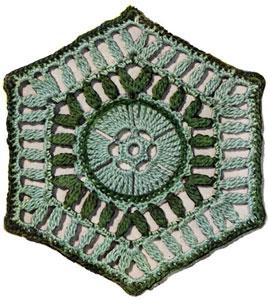Texas Modern Bedspread Pattern motif