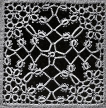 Tatted Filigree Motif Pattern chart