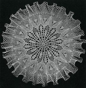 Tulip Garden Doily Pattern #S-949