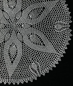 Pineapple Nosegay Doily Pattern #S-958