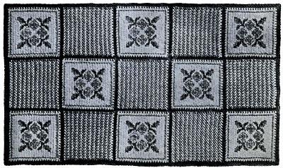 Basket Weave Rug Pattern 2