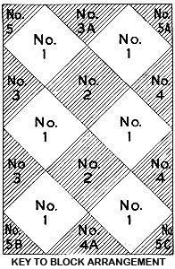Basket Weave Rug Pattern chart 1