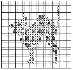 Crib Cover Pattern chart 1